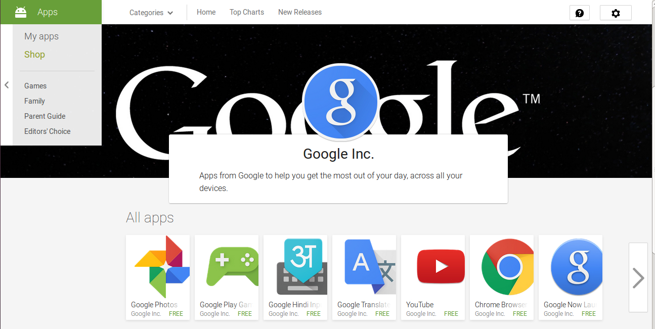 how to create play store